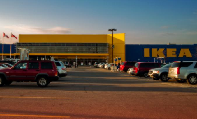 IKEA parking lot