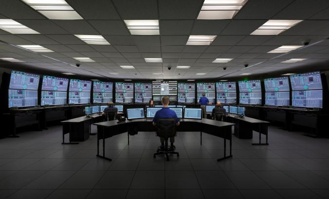 NuScale control room simulation