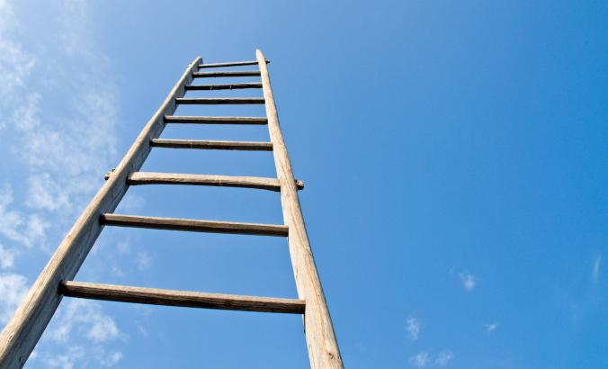 Career ladder into the sky