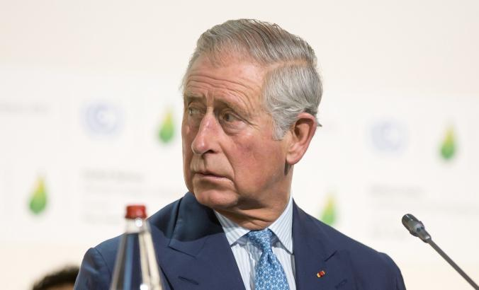 Prince Charles at climate talks in 2015