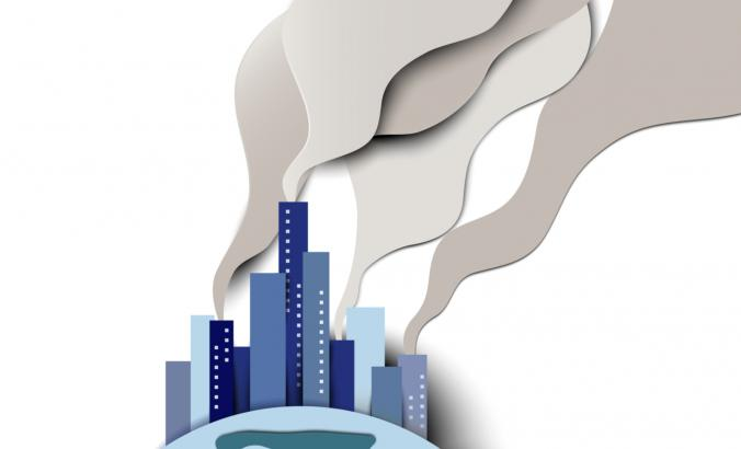 Illustration of building emissions.