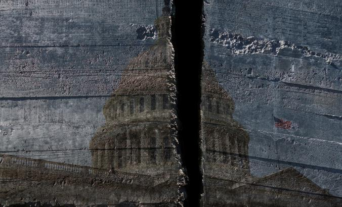 cracked capitol