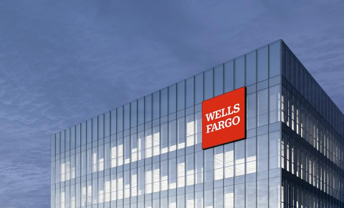 Wells Fargo signage in San Francisco