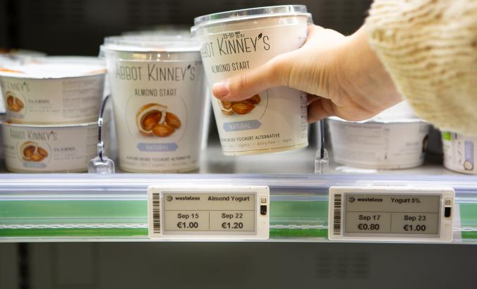 yogurt with two prices